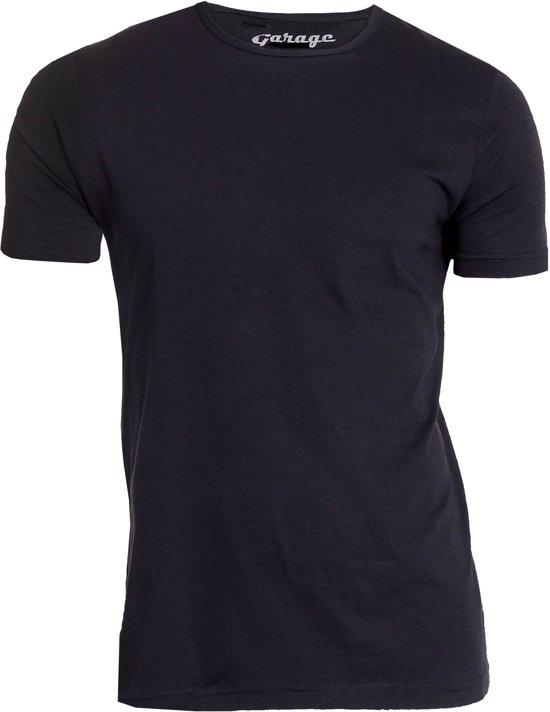 Garage 103 - 2-pack RN T-shirt regular fit black XXL 100% cotton