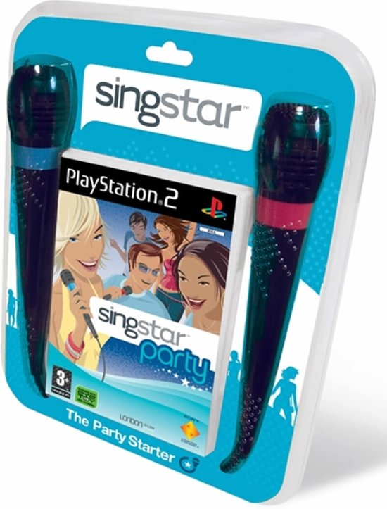 Singstar Party & 2 Microfoons
