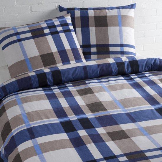 Day Dream Nico - dekbedovertrek - flanel - lits-jumeaux - 240 x 200/220 - Blauw