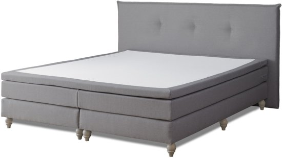 Boxspring cloudy - antracite 160x210