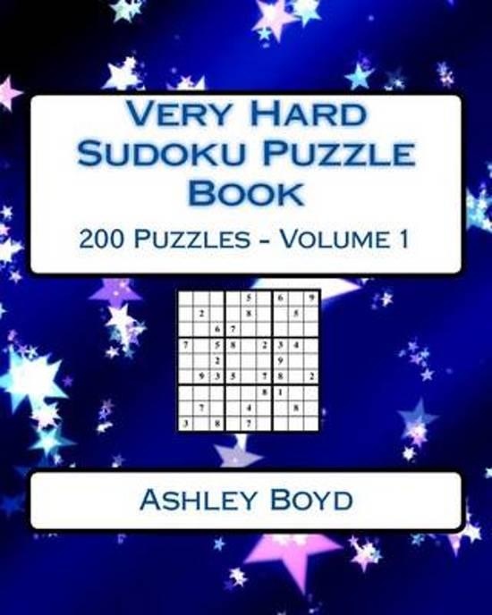 Very Hard Sudoku Puzzle Book Volume 1