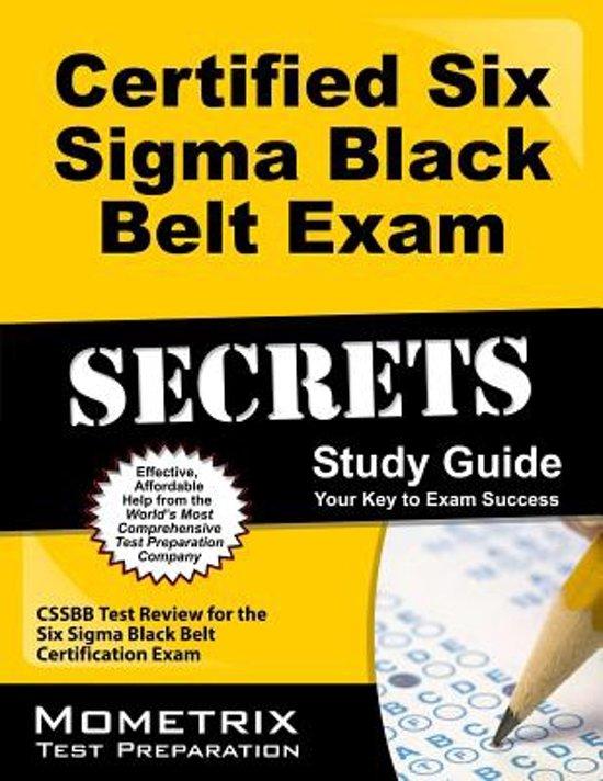 Bol Certified Six Sigma Black Belt Exam Secrets Study Guide