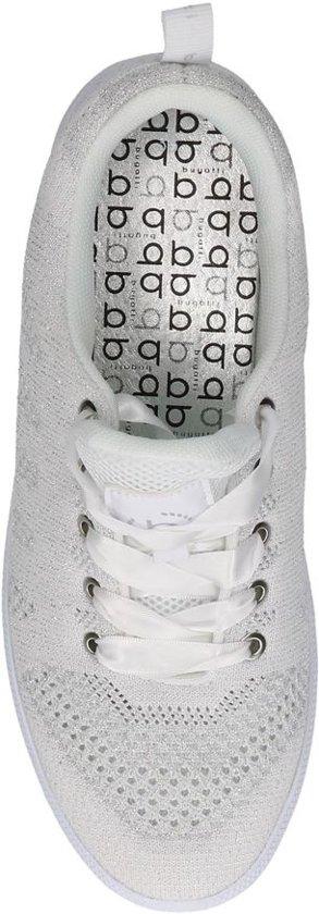 size 40 074b1 d65da Bugatti Sneakers Maat 39 Zilverzilveren Dames Lage 421 6969 2013 white  silver 40704 Rq6CwxRHZ