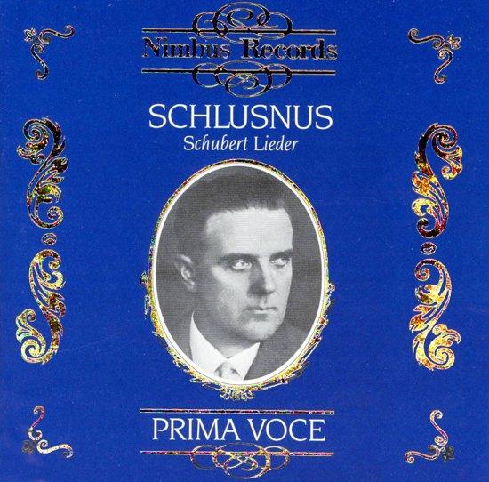 Heinrich Schlusnus - Schubert Lie