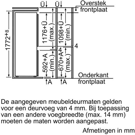 Bosch KIV38V20FF