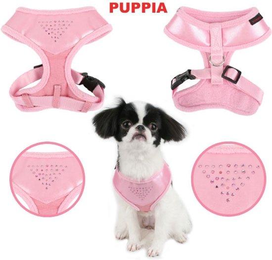 dcbc4de9f66 bol.com | Puppia tuigje harness A Shiny pink maat L