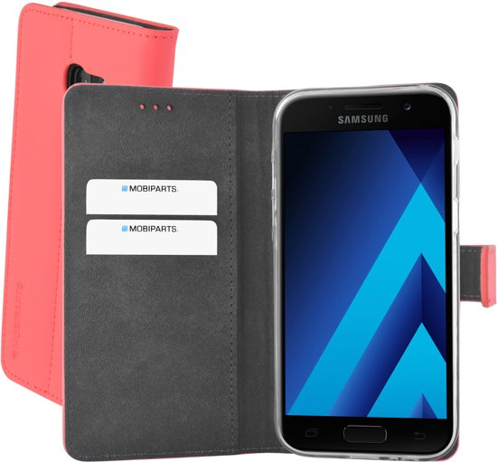 Mobiparts Premium Wallet TPU Case Samsung Galaxy A5 (2017) Peach Pink in Semmerzake
