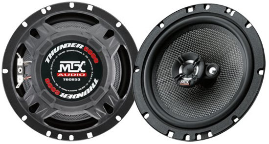 Beste bol.com   MTX AUDIO T6C653 autospeaker - 16,5cm - 3 weg - 260Watt XC-34