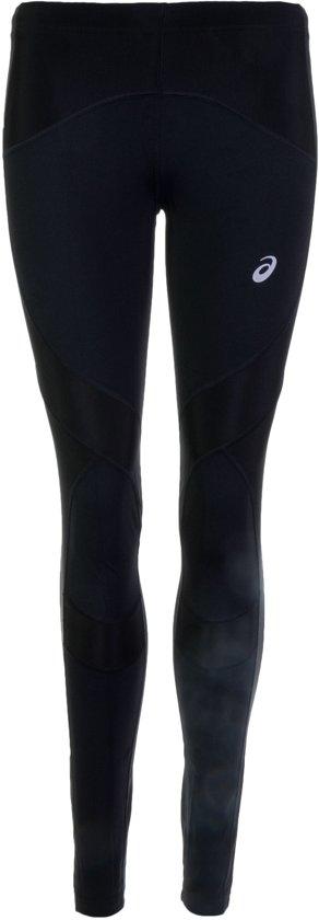 Asics Leg Balance  Hardloopbroek - Maat L  - Vrouwen - zwart