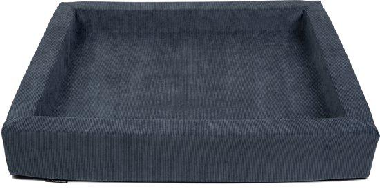 MaxxNobel - Hondenmand - Ribcord - XL - 100 x 80 cm - Blauw