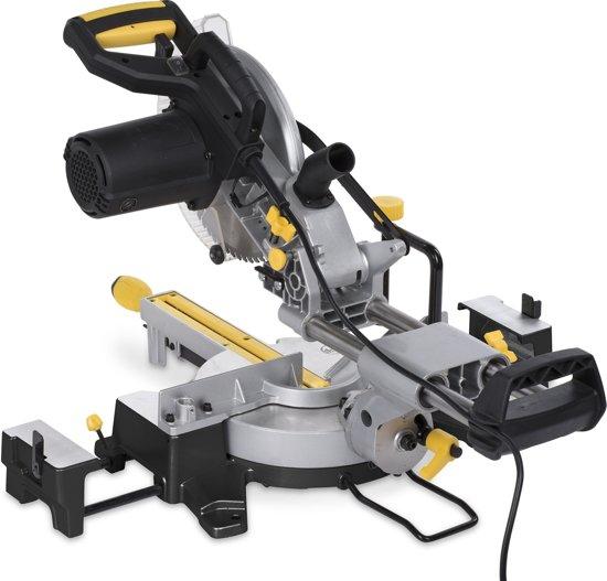 Powerplus POWX07565T Afkortzaag - Met trekfunctie - 2200 W - Ø254 mm
