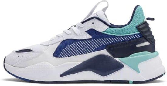 Puma RS-X Hard Drive - Wit-Blauw - Sneakers - Sportschoenen - Heren - Maat  44