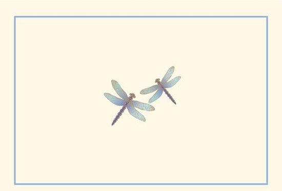 Afbeelding van het spel Note Card Blue Dragonflies