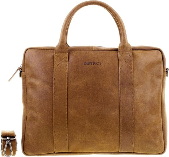 DSTRCT Limited Laptoptas 15,6 inch - Cognac