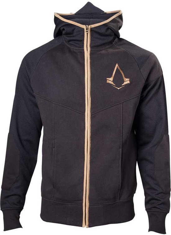 L SyndicateGold Mannen Assassin's Hoodie Zwart Logo Creed 5R3q4ALj