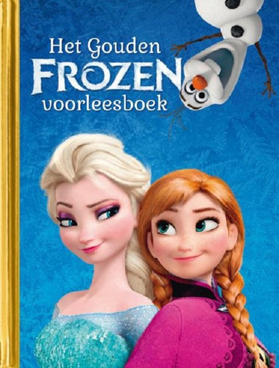 Gouden Boekjes - Het gouden Frozen voorleesboek