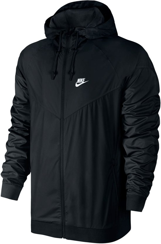more photos b50f1 053b2 Nike Windrunner Sporttrui - Maat L - Heren - zwart