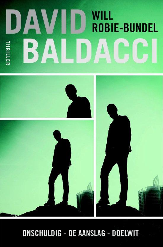 Boek cover Will Robie 1 t/m 3 - Bundel van David Baldacci (Onbekend)
