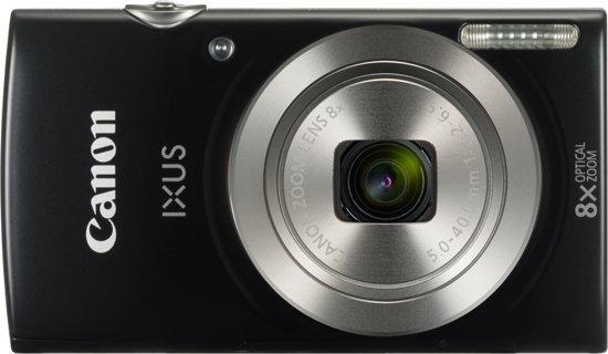 Canon Digital IXUS 185 Compactcamera 20 MP CCD 5152 x 3864 Pixels 1/2.3'' Zwart