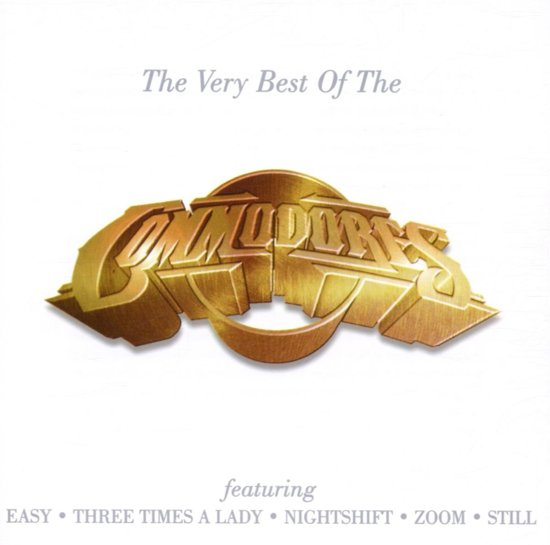 CD cover van Very Best Of The Commodores van Commodores