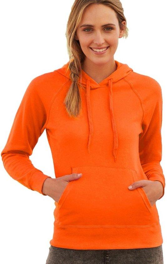 Trui Met.Bol Com Oranje Hoodie Sweater Voor Dames Dameskleding Oranje
