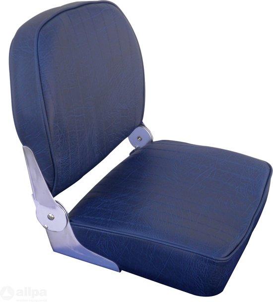 Allpa CORFU donkerblauwe opklapbare Bootstoel