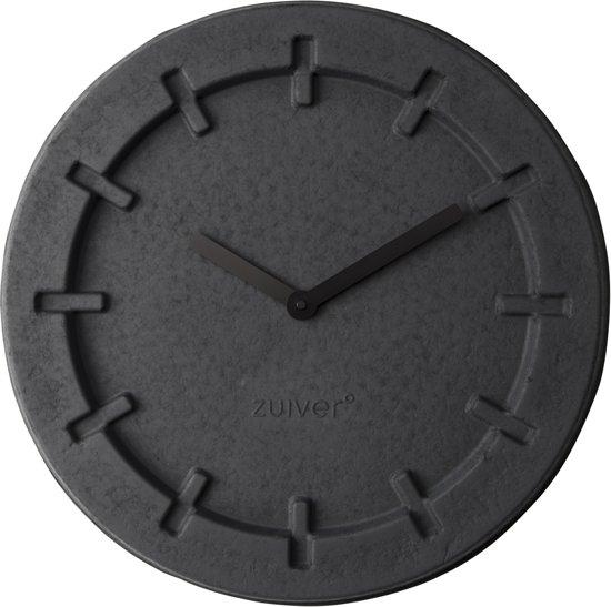Zuiver Pulp Time Round - Klok - Zwart