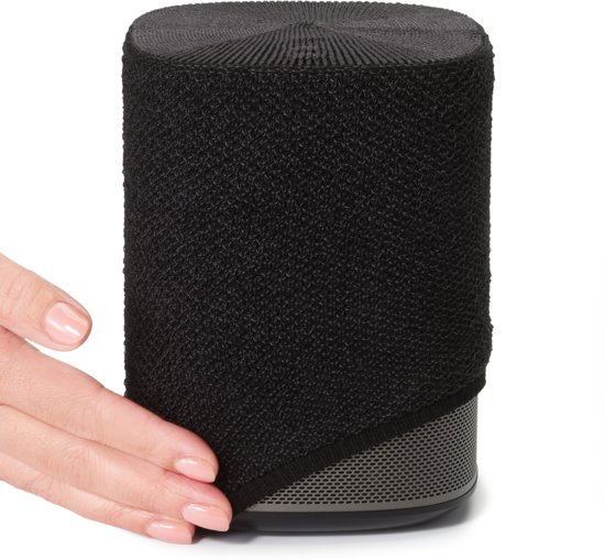 Cool Soundskins Voor Sonos Play 1 Luxe Cover Charcoal Black Grafietzwart Ncnpc Chair Design For Home Ncnpcorg