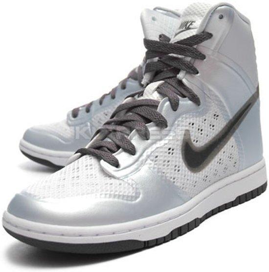 brand new a3c7c 55be0 ... top quality nike dunk hi skinny hyperfuse dames sneaker aura dark grey  white maat 41 74247