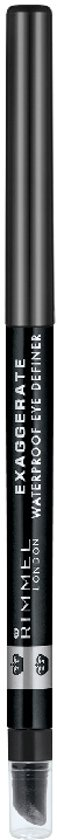 Rimmel London Exaggerate Full Colour Oogpotlood - 262 Blackest Black