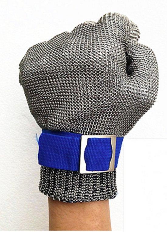 Oesterhandschoen RVS (1 Maat voor iedere hand)