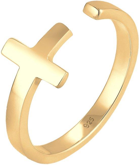 Elli Ringen Kruis 925 Sterling Zilver
