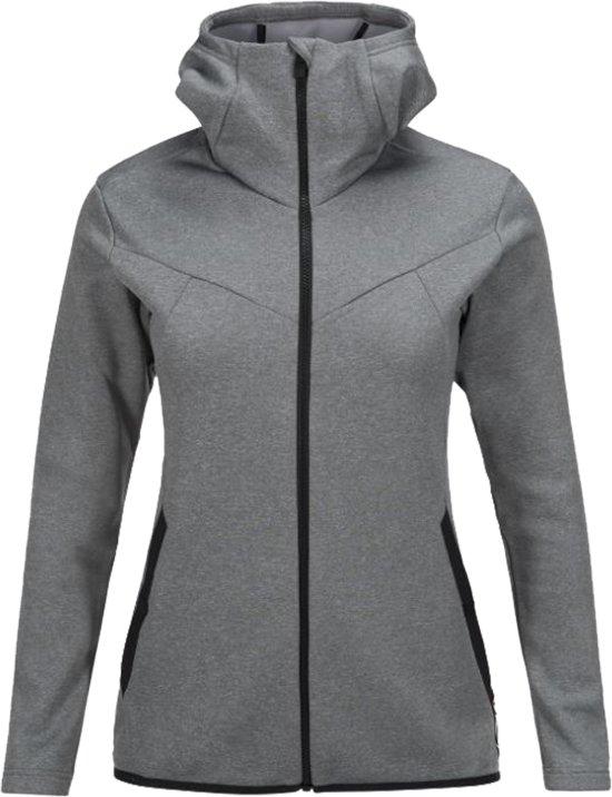 PerformanceGoldeck Zipped Mid Women Hooded L layer Dames Peak Maat y8OvNnm0wP