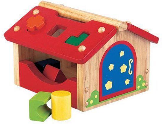 Santoys Huis met geometrische blokken