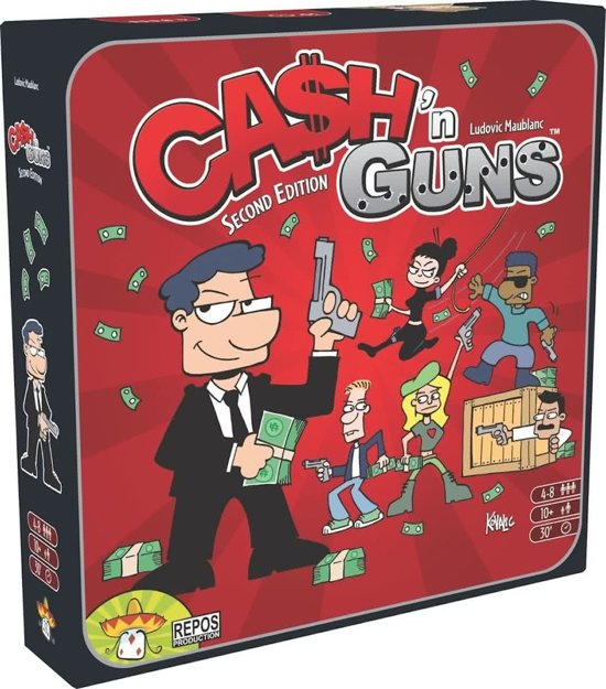 Cash 'n Guns 2nd ed. NL