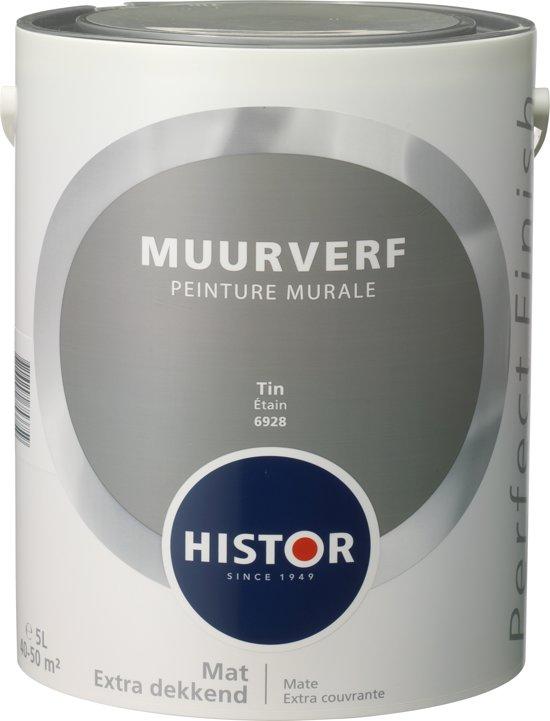 Histor Kleuren Verf.Bol Com Histor Perfect Finish Muurverf Mat 5 Liter Tin