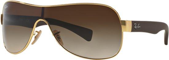 38e3a2ec101a86 Ray-Ban RB3471 001 13 - zonnebril - Goud-Turtledove rubber   Bruin