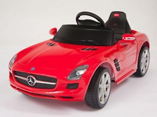 Bol Com Mercedes Benz Sls Amg Rood Elektrische Kinder Accu Auto