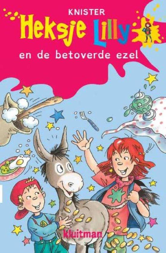 Dyslexie boeken Heksje Lilly en de betoverende ezel