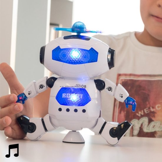 Dansende Robot - met licht en geluid