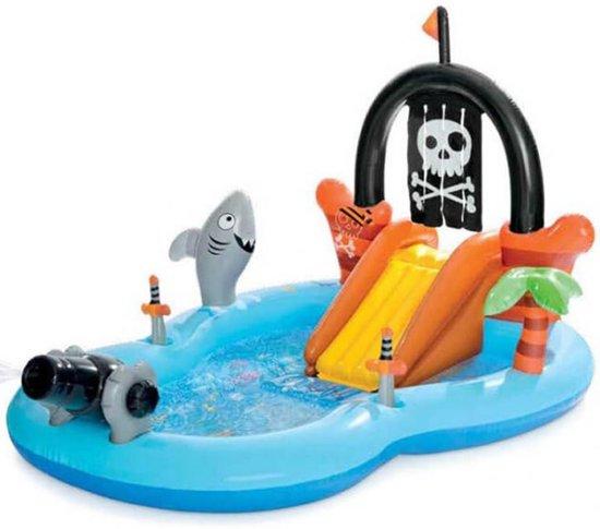 Intex Speelzwembad Piraat - 246x193x150cm