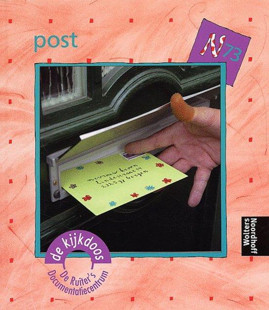 Boek cover Post van Marian van Gog (Hardcover)