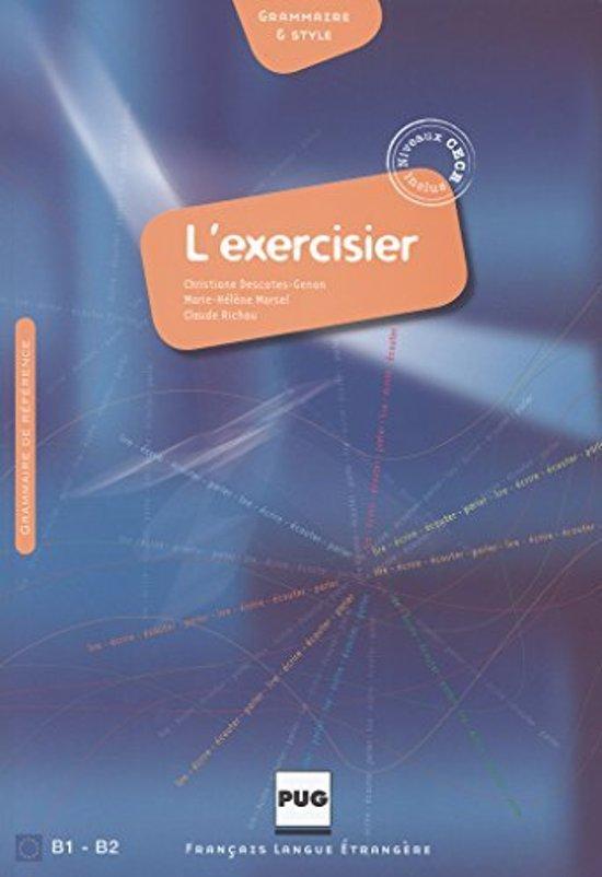 L'Exercisier. Manuel d'expression française