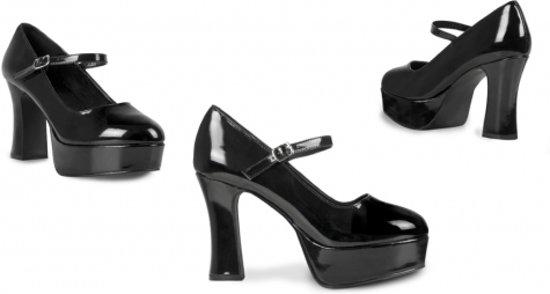 Chaussures Disco Pour Femmes Blanc Talon Haut 3bekw