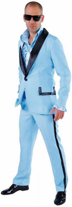 Volwassenenkostuum heren smoking blauw maat XS
