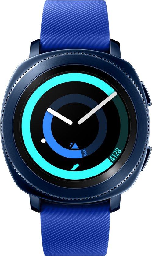 Samsung Gear Sport - Smartwatch - Blauw