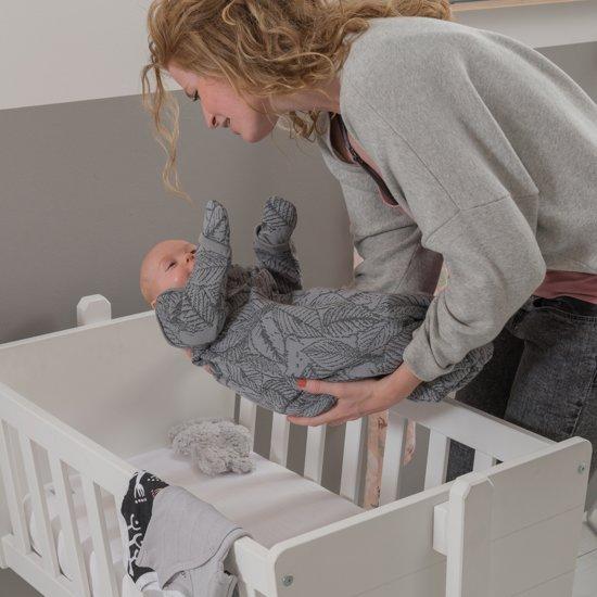Lodger Baby slaapzak - Hopper BotAnimal - Grijs - Lange mouw - 50/62