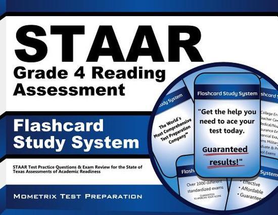 Afbeelding van het spel STAAR Grade 4 Reading Assessment Flashcard Study System