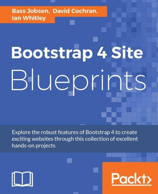 bol com | Bootstrap 4 Site Blueprints (ebook), Bass Jobsen