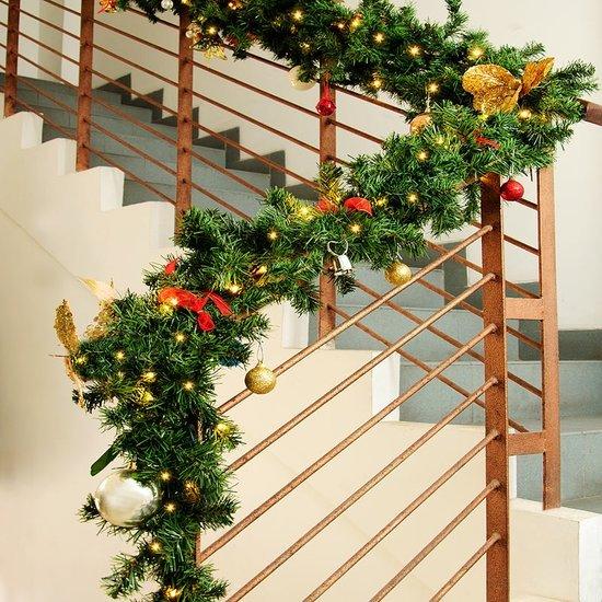 Dennentak kersttak - LED Kerstmis 11 m